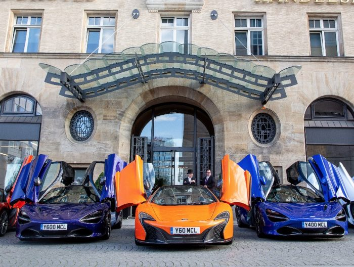 McLaren Presse Event / Steigenberger Grandhotel Handelshof Leipzig