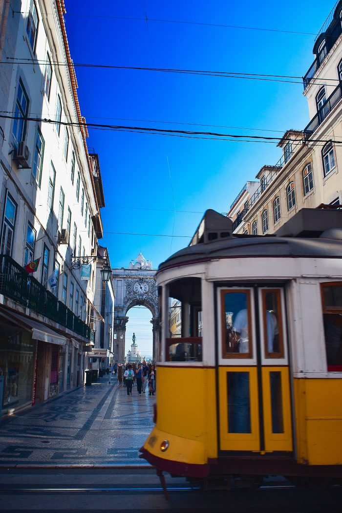 Lissabon / Incentive / Strassenbahn