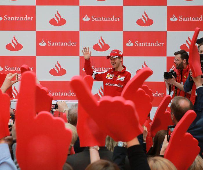 Santander Vettel Day / Mönchengladbach / Santander Consumer Bank